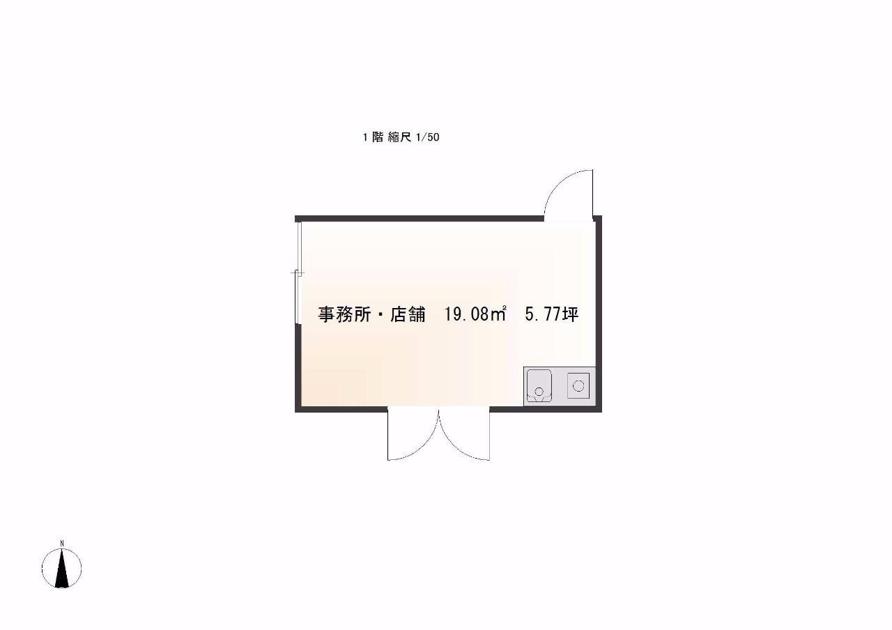 高松市三名町135-1・賃貸・店舗・事務所・5.77坪・空港通り沿い・みやざき不動産