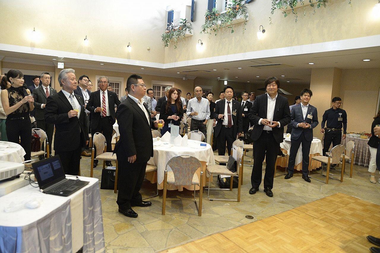 8月24日守成クラブ徳島3周年記念例会が「ホテルサンシャイン徳島 アネックス館」で行われました!