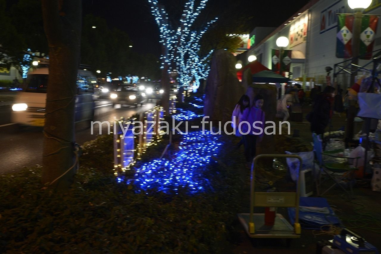 12/1&12/2&12/9 高松レインボーロードイルミネーションフェスティバル