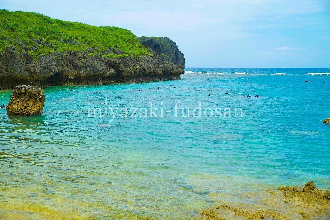 「宮古島・下地島、中の島ビーチ」