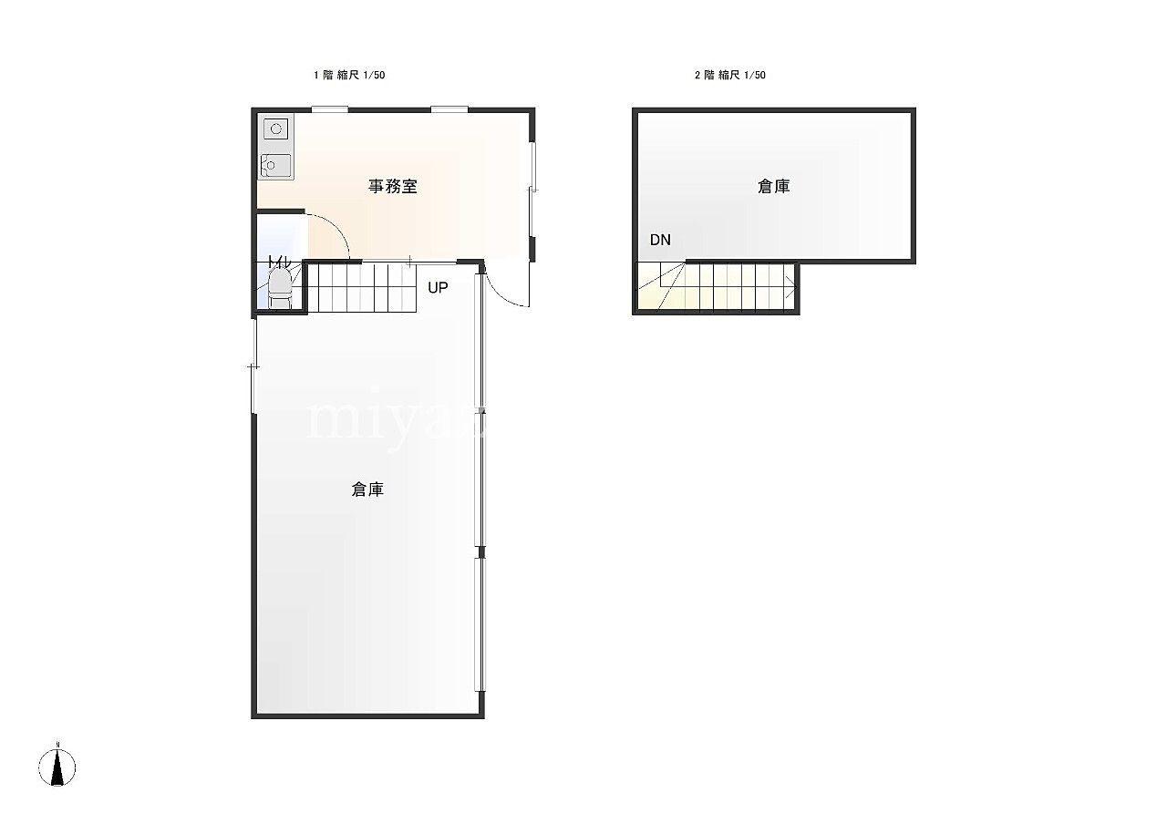 高松市太田上町502-12・賃貸 ・貸事務所、倉庫・22坪・駐車場3台・みやざき不動産