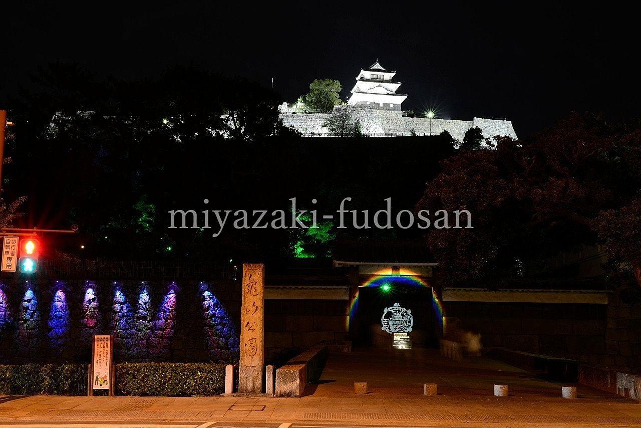 丸亀城キャッスルロード