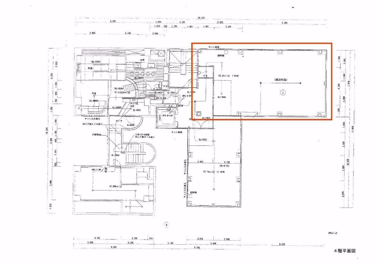 高松市鍛冶屋町4-5・賃貸 ・店舗 ・飲食店可能・Emmy1ビル(エミーワンビル)・37.57坪 ・みやざき不動産