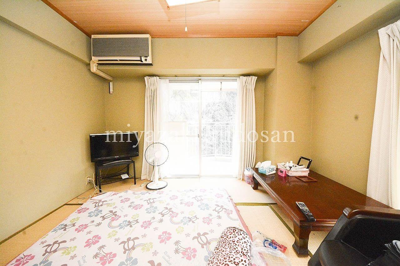 高松市塩江町・塩江温泉郷にある10階最上階の南向きのマンション