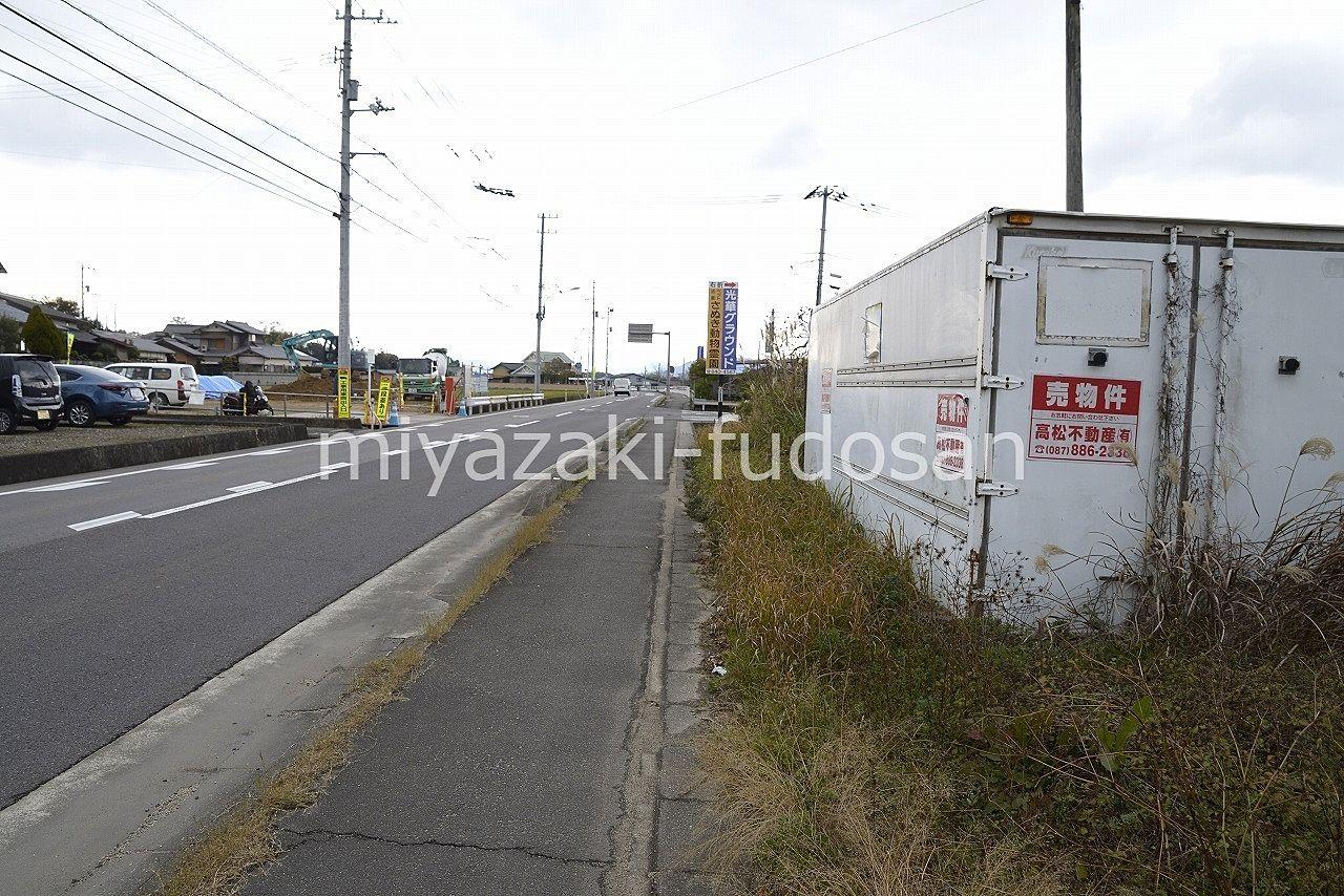 高松市西植田町705-2・売買・77.44坪・土地・ロードサイド・みやざき不動産