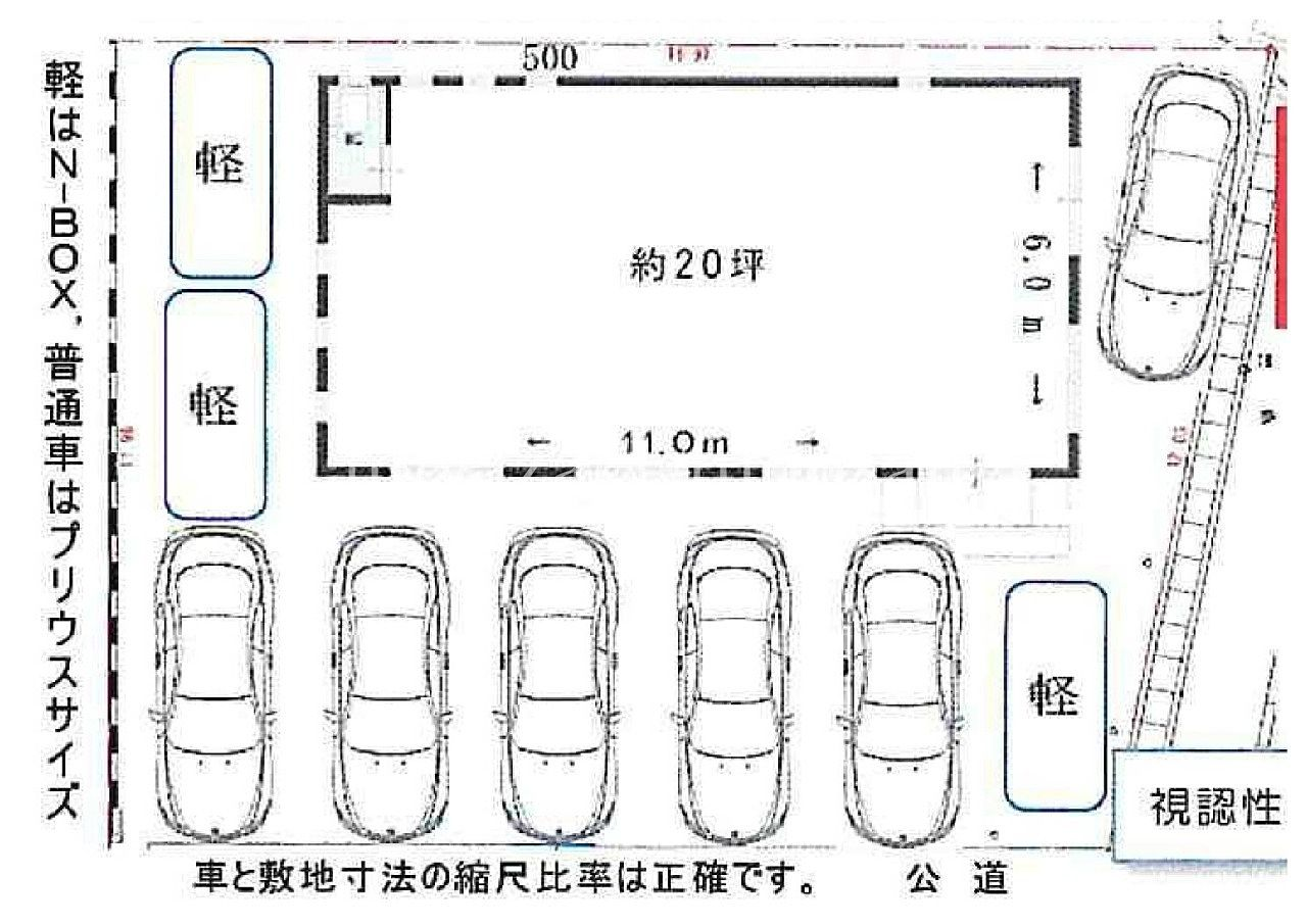 高松市福岡町の2021.6完成の新築店舗!