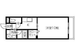 高松市松縄町1061-2・賃貸・マンション・1K・コンフォート松縄・みやざき不動産